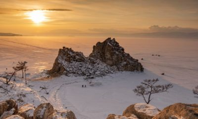 Lago Baikal Rusia. Foto Archivo.