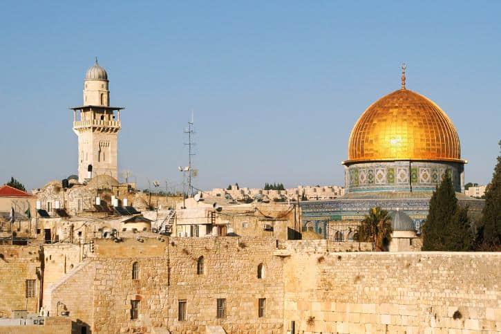 Lugares Turísticos. Imagen: Israel. Archivo