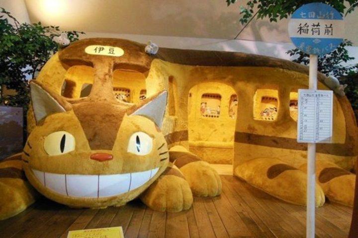 Museo Ghibli en Tokyo. Foto Jrailpass.
