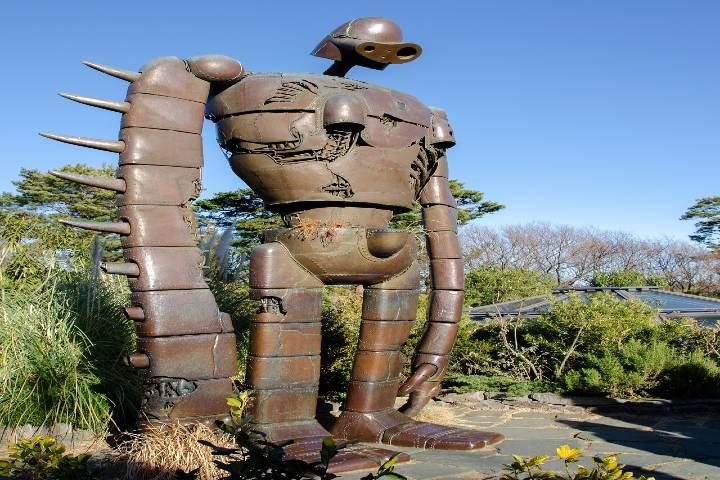 Museo Ghibli en Tokyo. Foto Penash.