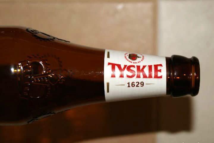 Polonia, cerveza Tyskie. Foto Archivo.