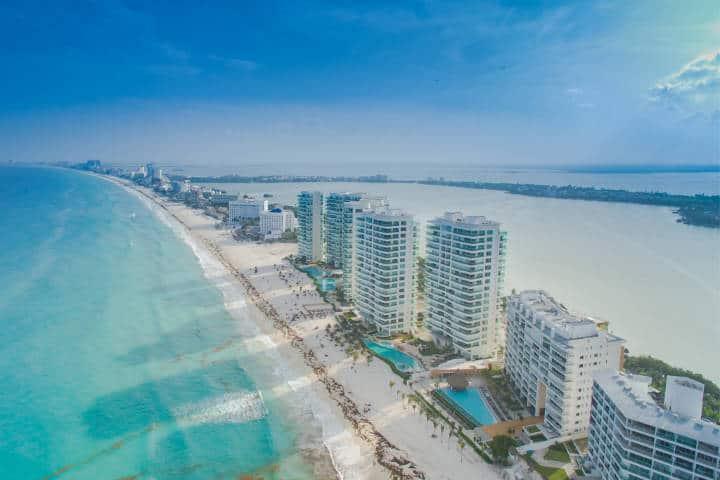 Islas Cancún. Imagen: Islas Paradisiacas. Archivo