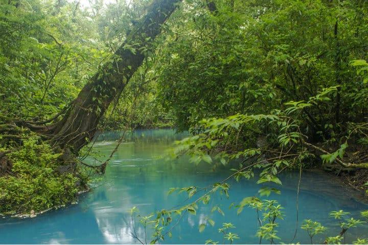 Rio Celeste. Imagen: Costa Rica. Archivo