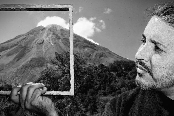 Volcán. Mexicano gana concurso de fotografía. Foto: Sergio Tapiro