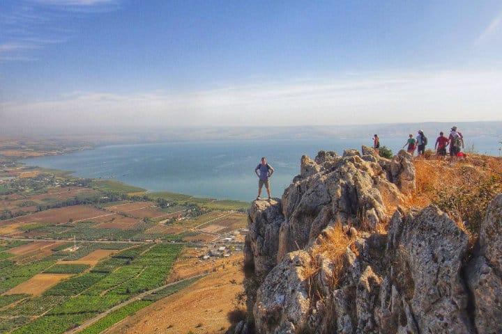 Monte Arbel. Imagen: Israel. Archivo