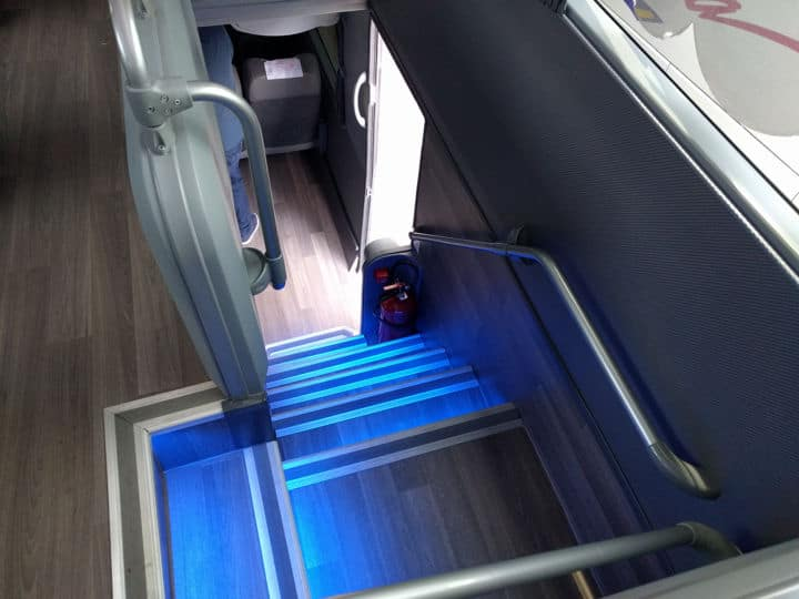 Autobuses Futura de dos pisos