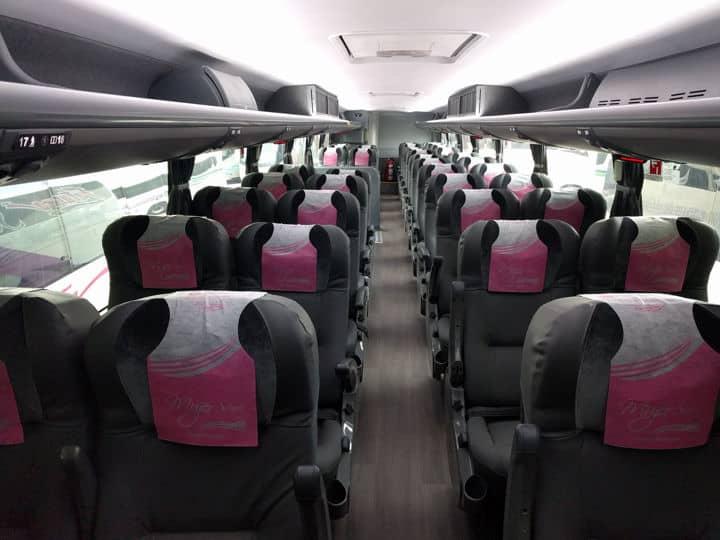 Autobuses Futura de dos pisos. Imagen: Futura