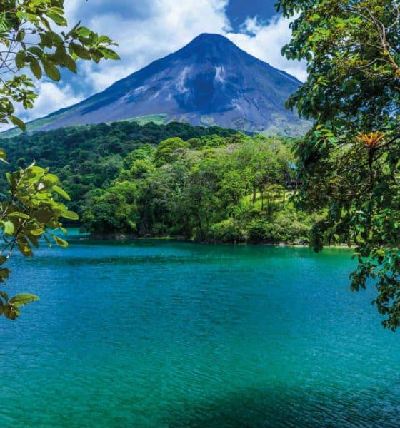 Volcán Imagen: Costa Rica. Archivo