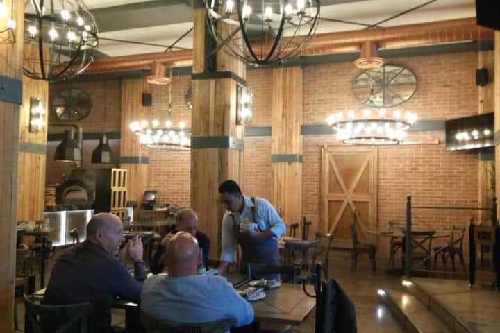 Restaurante Gardela, Diseño