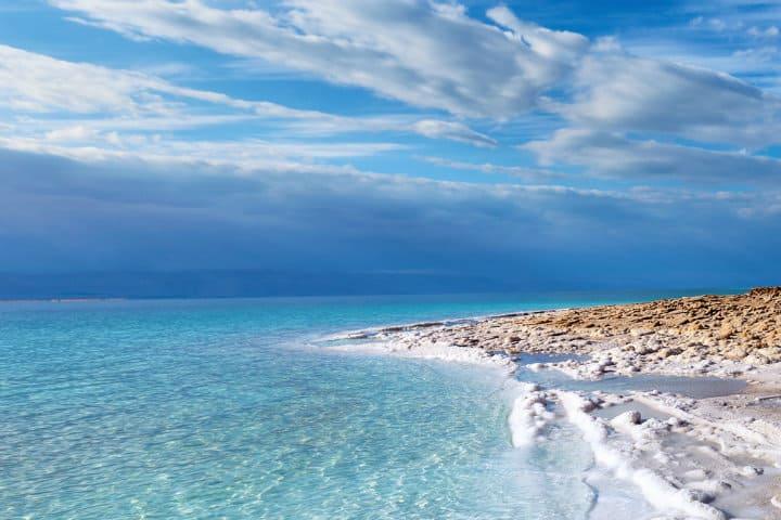 Mar muerto. Imagen: Israel. Archivo