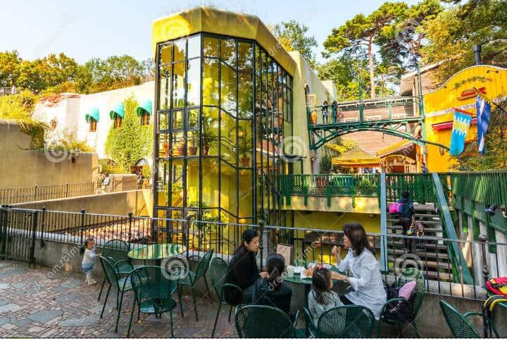 Restaurante. Imagen: Museo Ghiblio. Archivo