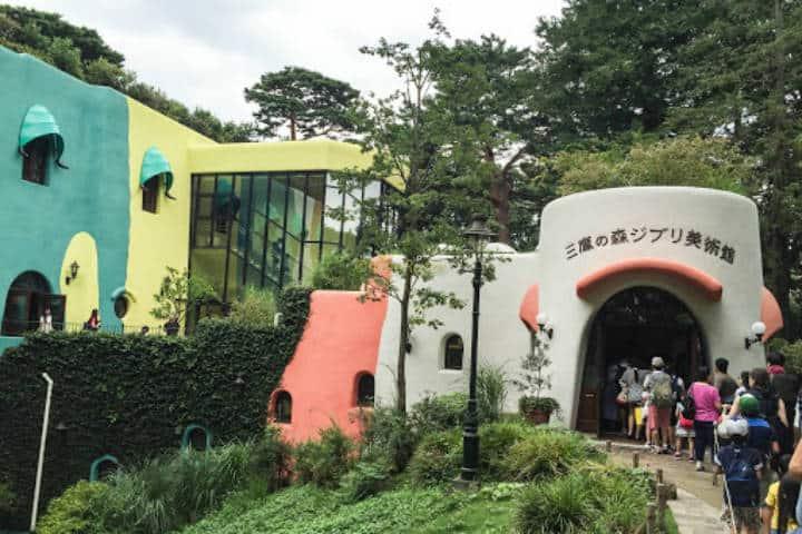 Museo. Imagen: Museo Ghibli. Archivo