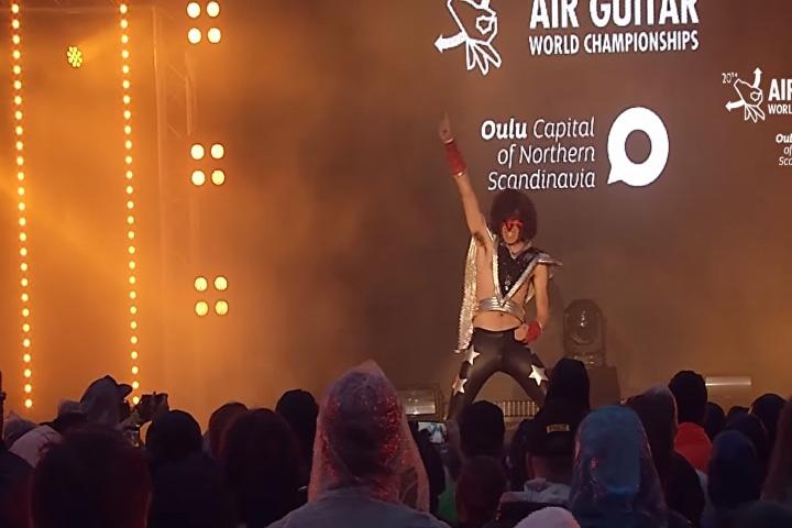 Air Guitar. Foto Sputnik Mundo