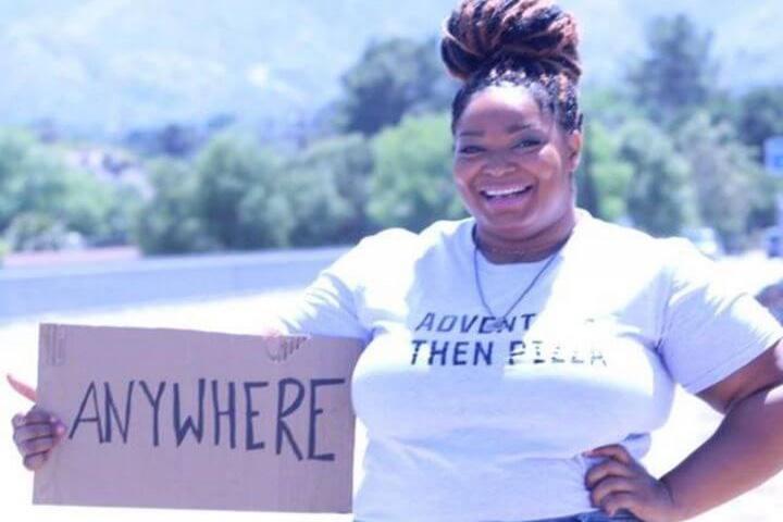 Annette Richmond viajera con sobrepeso. Foto: Mujeres Viajeras