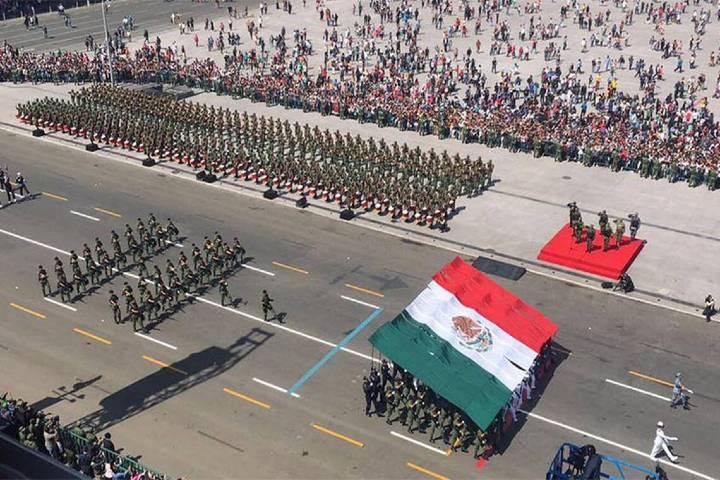 El sol de México Foto: Por qué se realiza el desfile militar en la CDMX