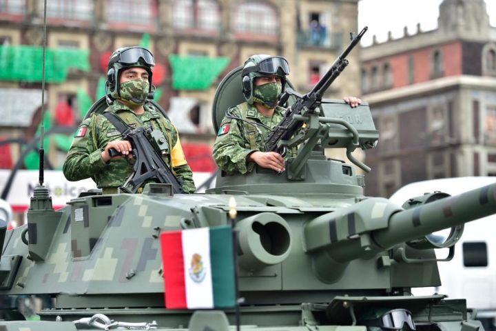 Expansión Política Foto:Por qué se realiza el desfile militar en la CDMX