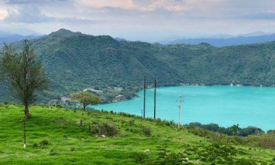 Laguna Santa María del Oro en Nayarit port
