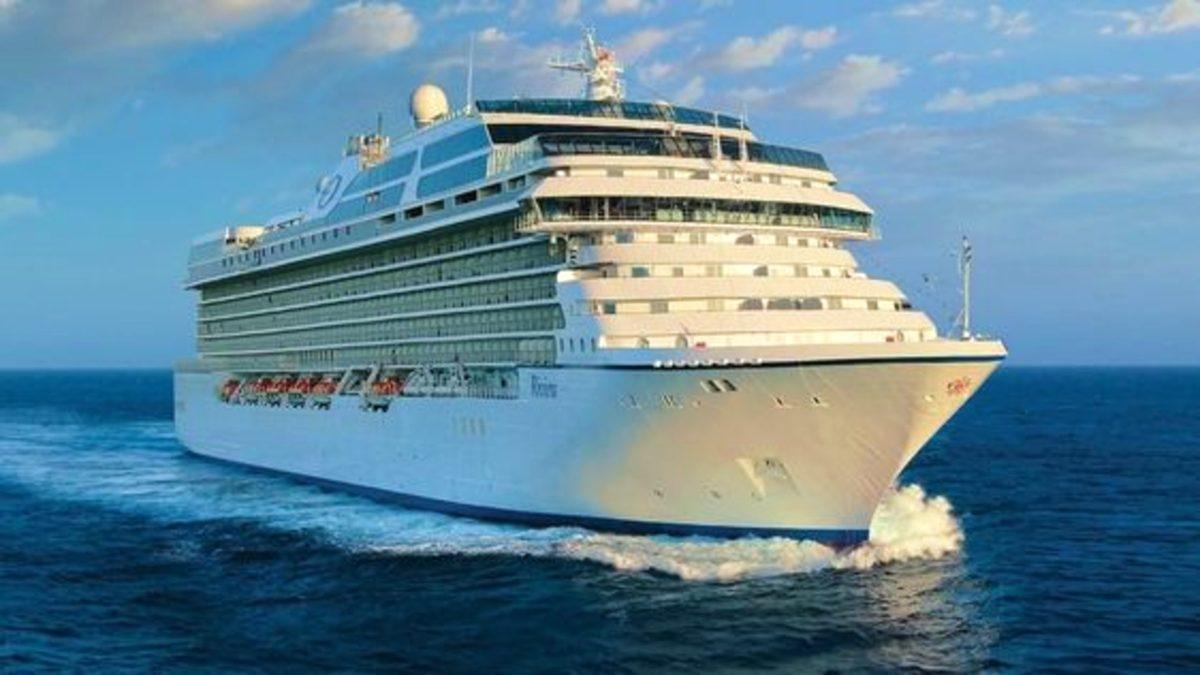 Menú vegano en Oceanía cruises. Foto Livekindly.
