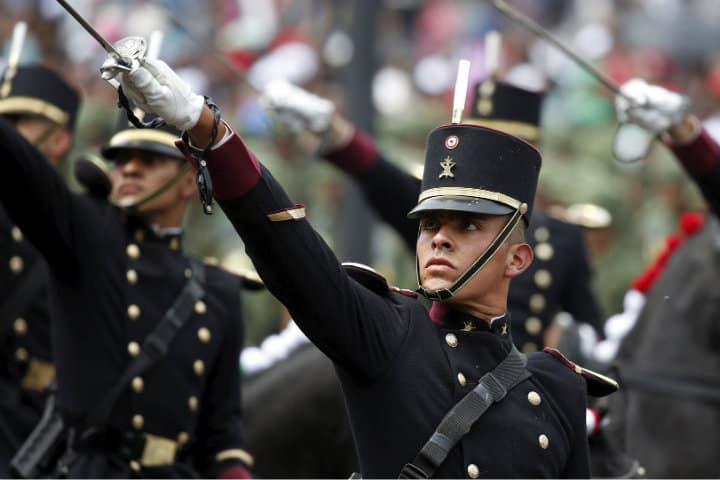 Por qué se realiza el desfile militar en la CDMX.Foto.Infobae.1