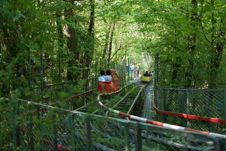 Ai Pioppi parque de diversiones ecológico en Italia