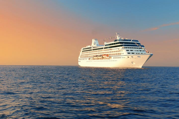Crucero Oceanía. Imagen: Océano. Archivo