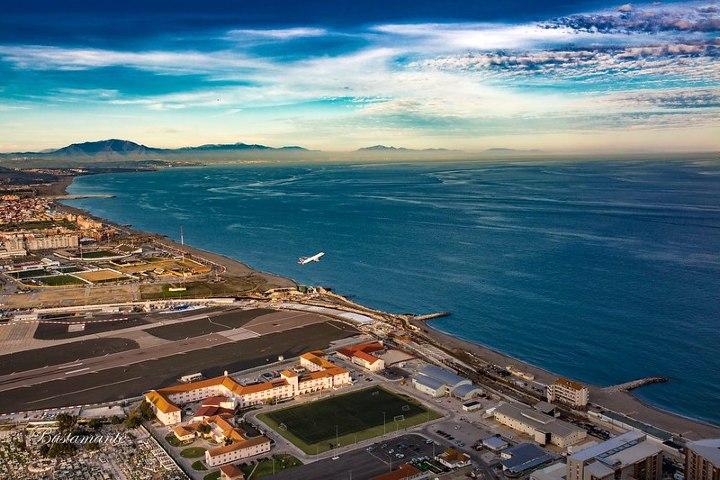 Aeropuerto de Gibaltar. Imagen: Yelmar.