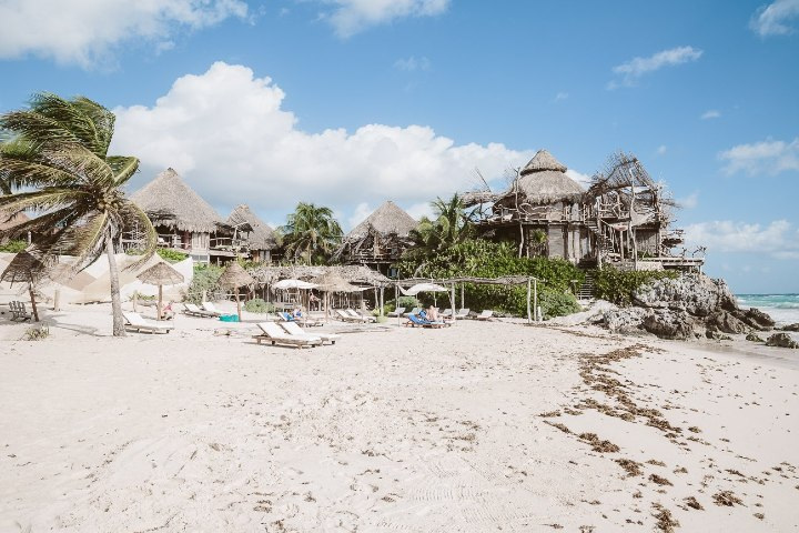Azulik beach club. Foto_ thetravelblog