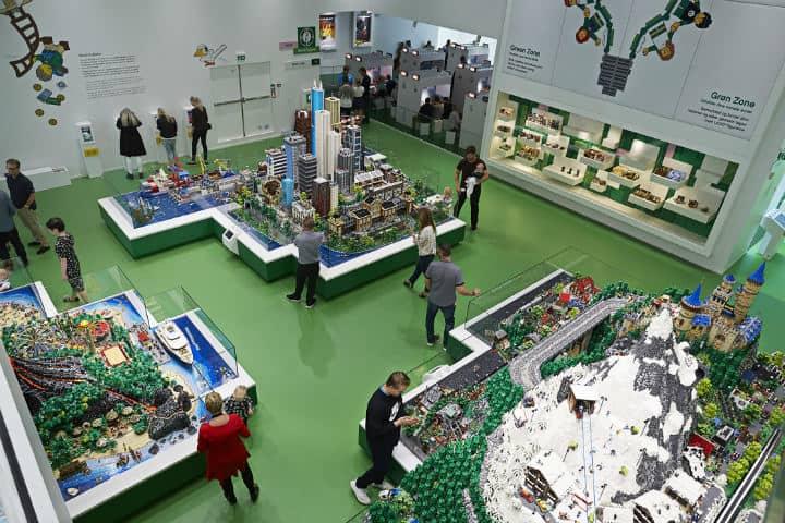 The LEGO house Dinamarca FOTO: LEGO