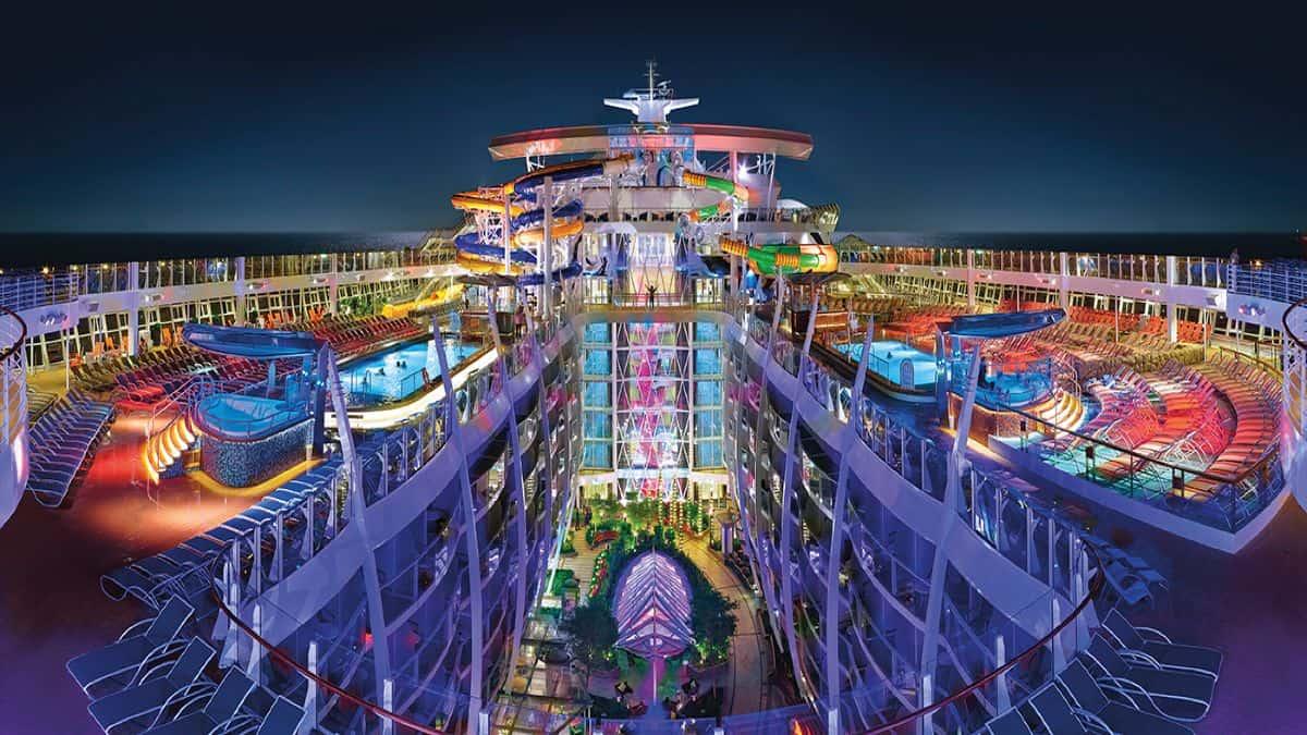 Crucero de Royal Caribbean. Foto: solocruceros.com