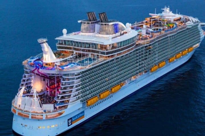 El crucero más grande del mundo. Foto: escalabarcelona.com