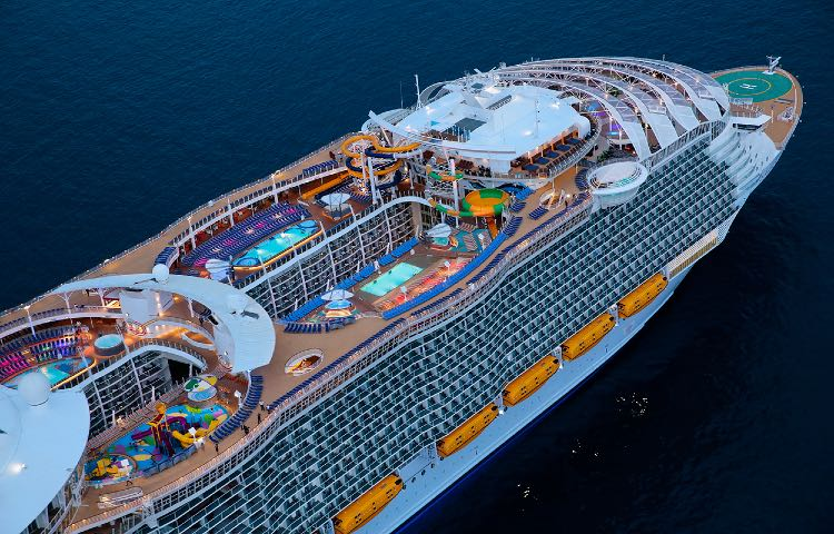 El crucero más grande del mundo. Foto: Cómo Funciona