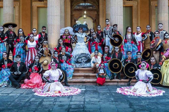 Festival Cultural de Calaveras en Aguascalientes. Foto. Publímetro. 1