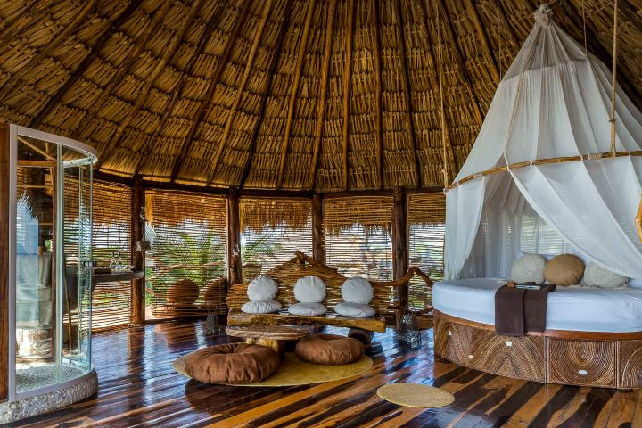 Habitaciones Hotel Azulik. Foto_ momondo