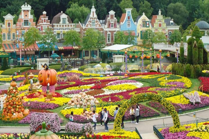 Parque temático en Corea del Sur. Foto: estilodf.tv