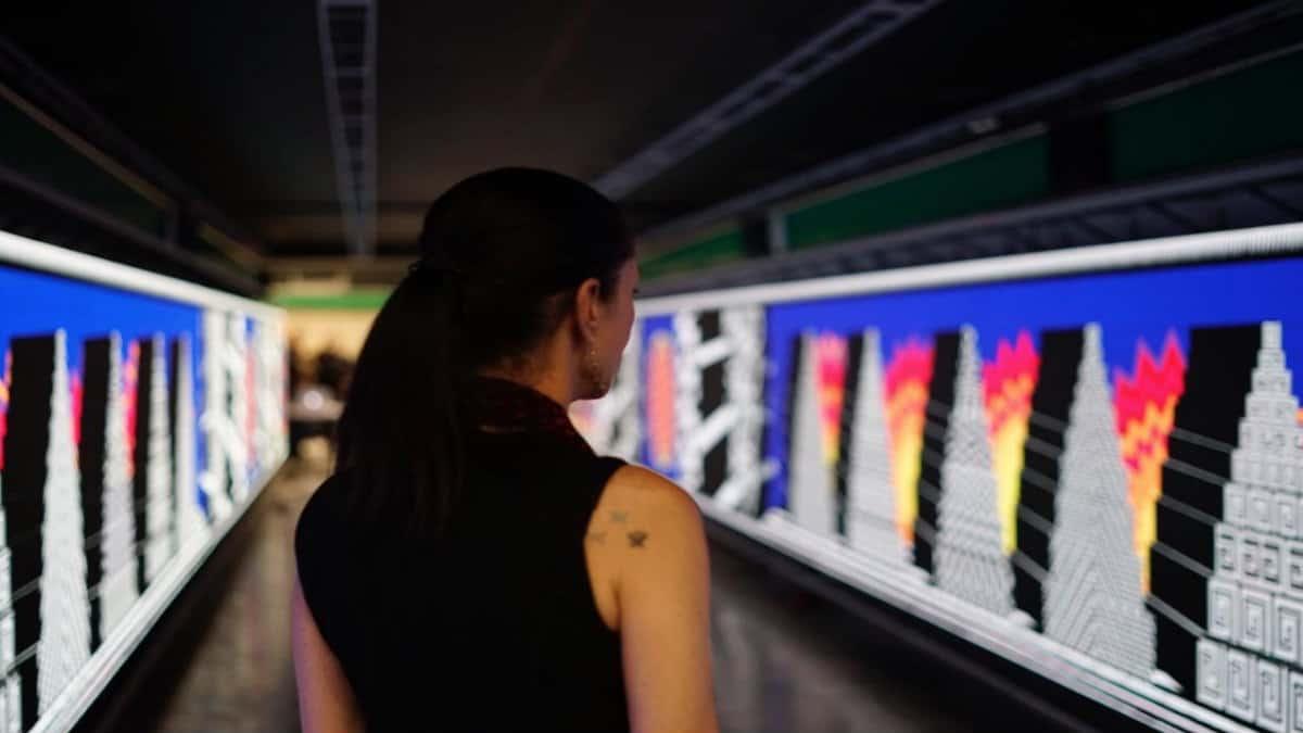 Portada.Obras de arte en el metro de la CDMX.Foto.Al momento