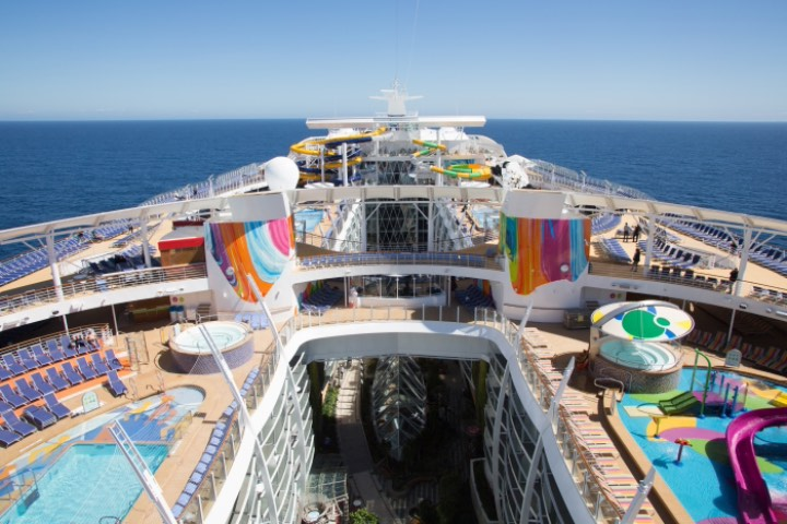 Symphony of the seas de Royal Caribbean. Foto: Revista Traveling
