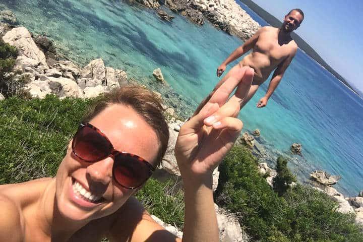 Viajeros desnudos Fotos Naked Wanderings 3 Croacia
