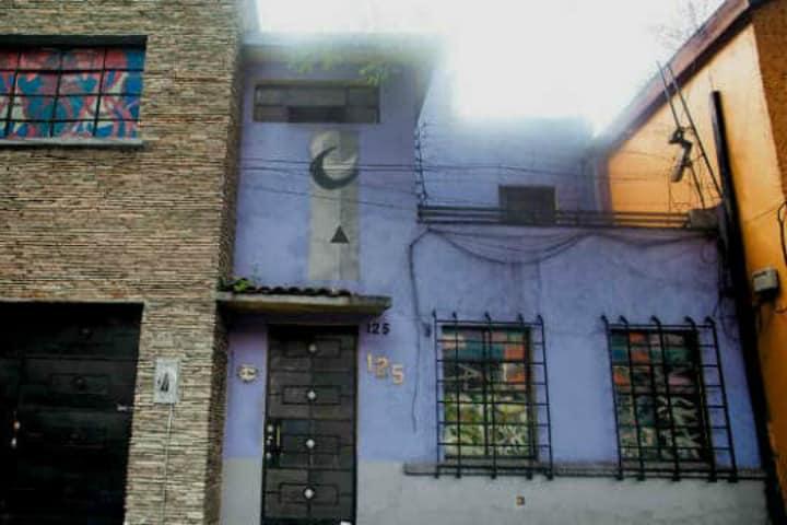 Casa Moira en CDMX. Foto El Souvenir