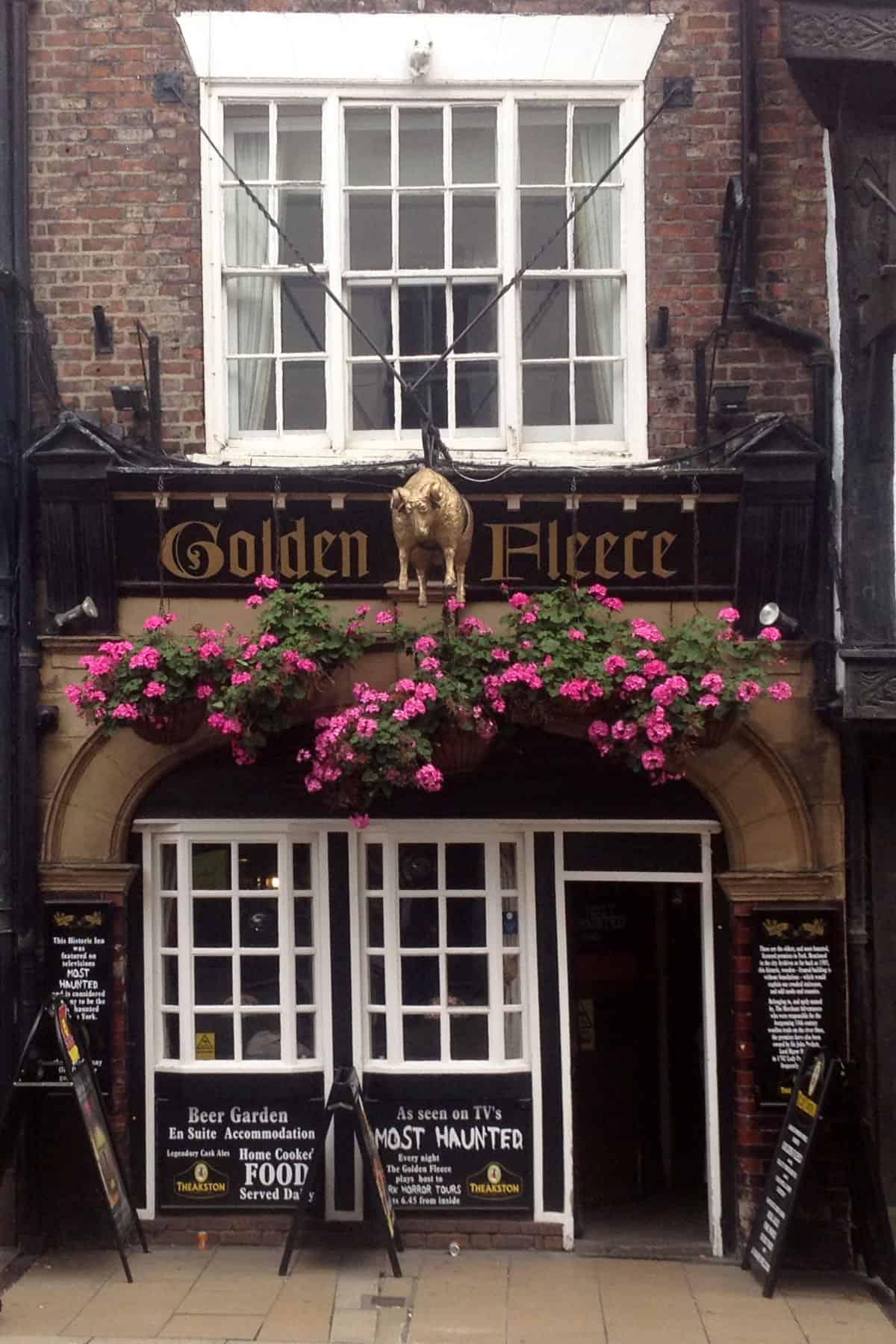 The Golden Fleece. Foto: Archivo.
