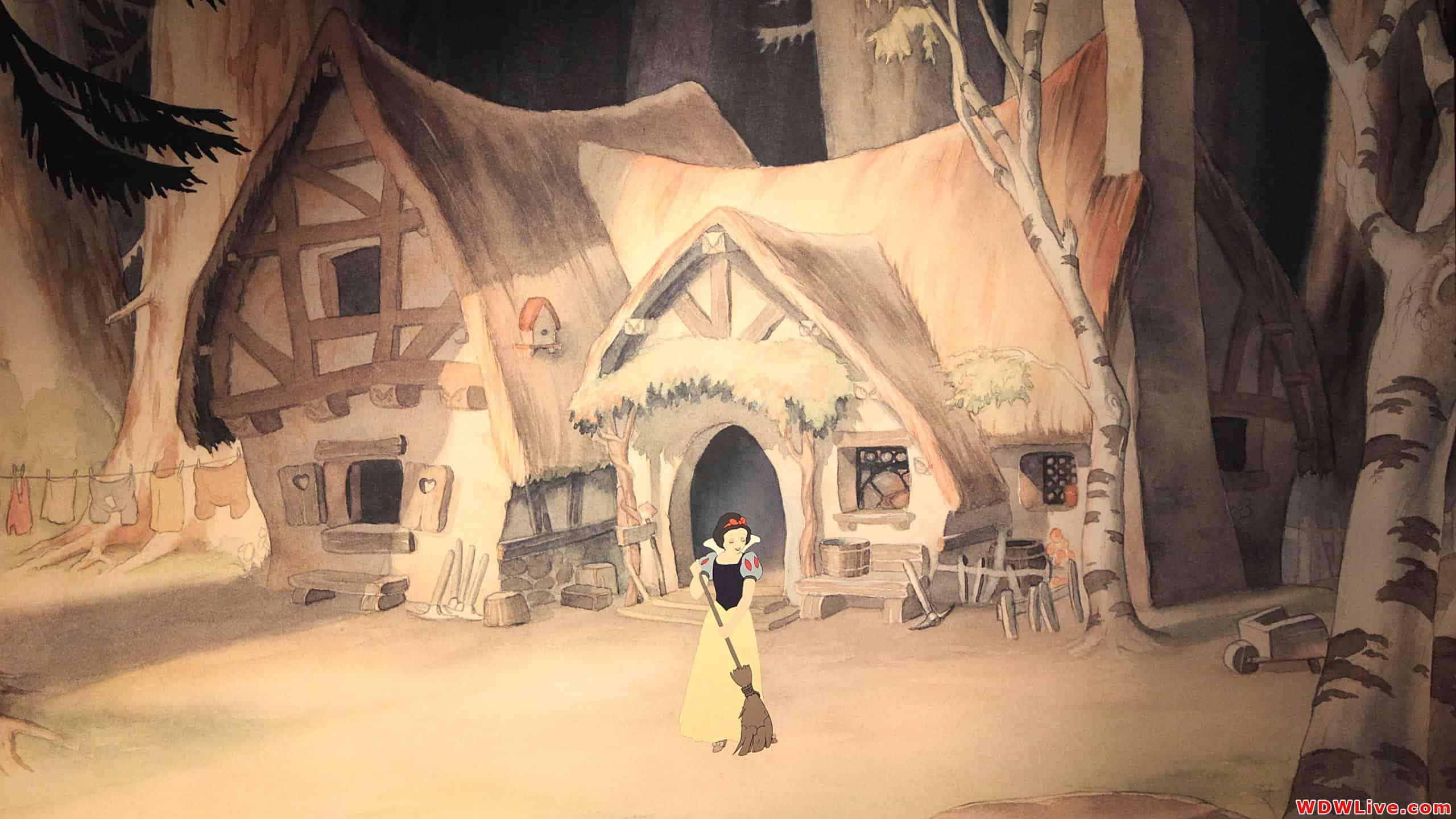 Casas de caricatura, La casa de los 7 enanos