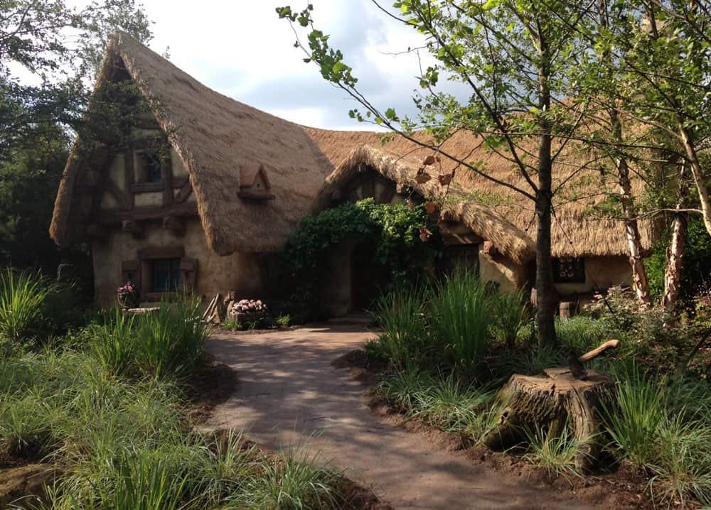 La casa de los 7 enanos en la vida real