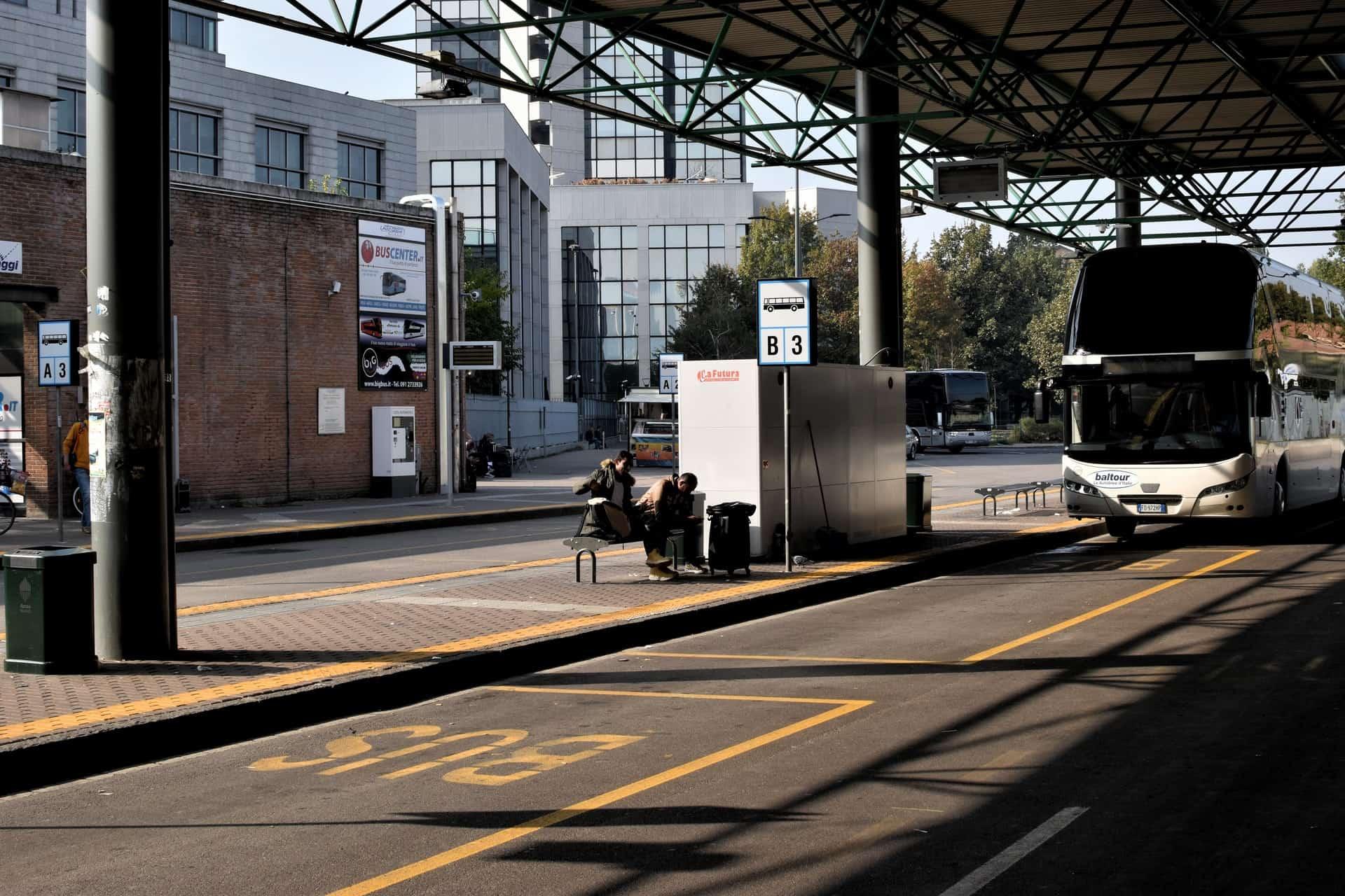 Autobús-hotel. Foto. Matteo Maretto 1