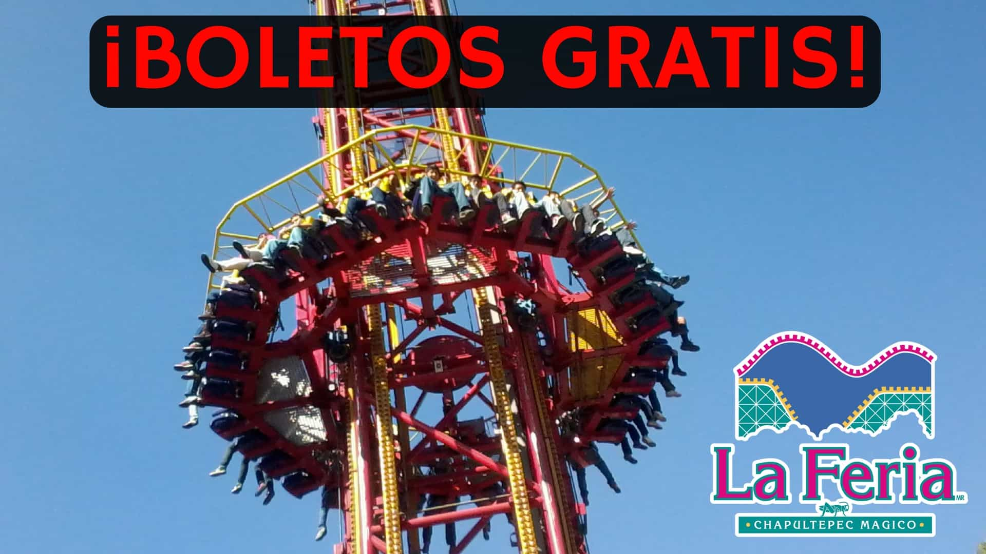 Boletos Para La Feria De Chapultepec Totalmente Gratis El Souvenir