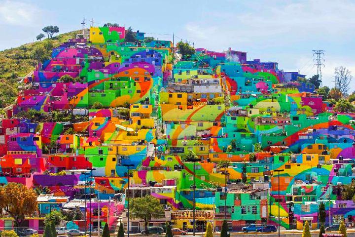 Barrio de Palmitas en Pachuca. Foto_ applauss