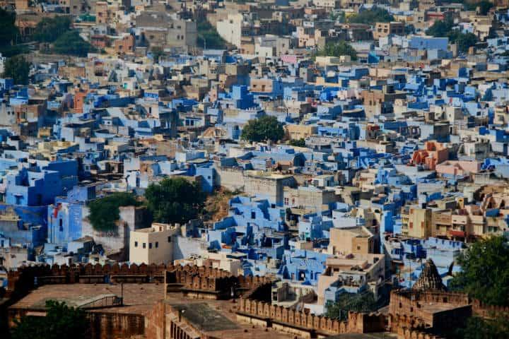 Ciudades colores Jodpur Peter Cook