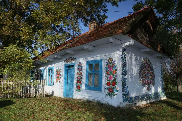 Ciudades colores Zalipie Foto Flickr
