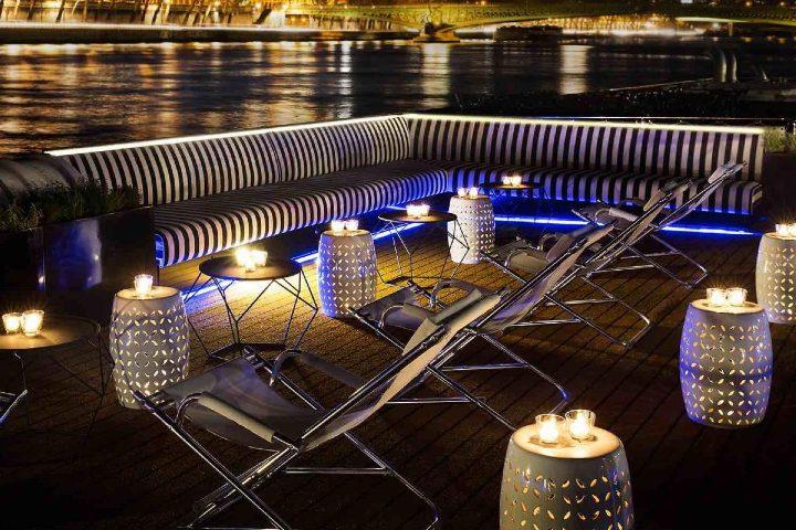 Cubierta de noche. Foto_ Seatrade Cruise News.
