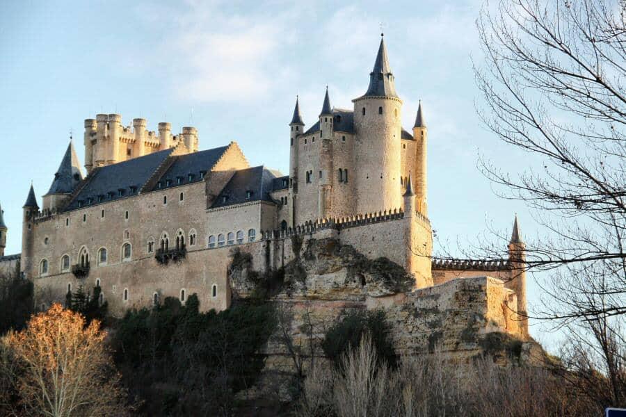 Castillo Alcázar de Segovia.