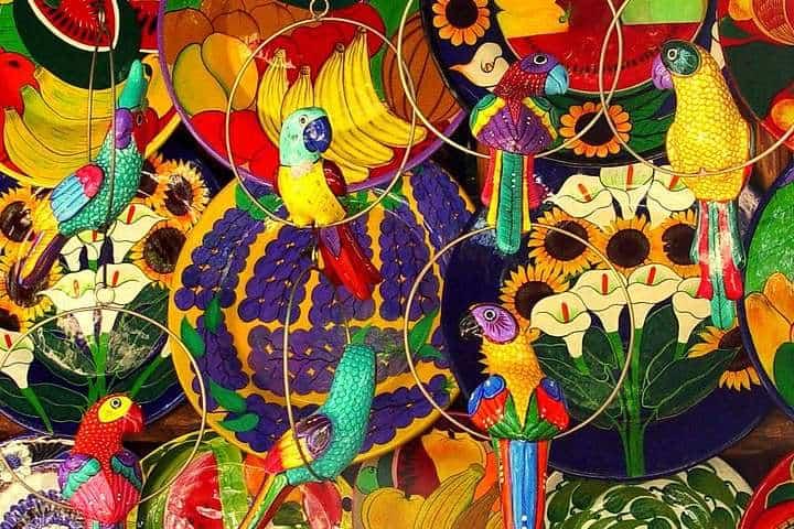 Artesanías, Colores