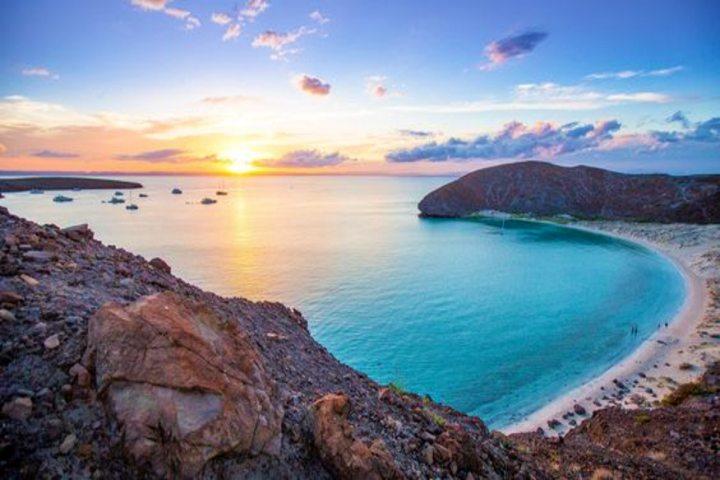 Isla Espíritu Santo, Baja California Sur. Foto Alberto Quezada.